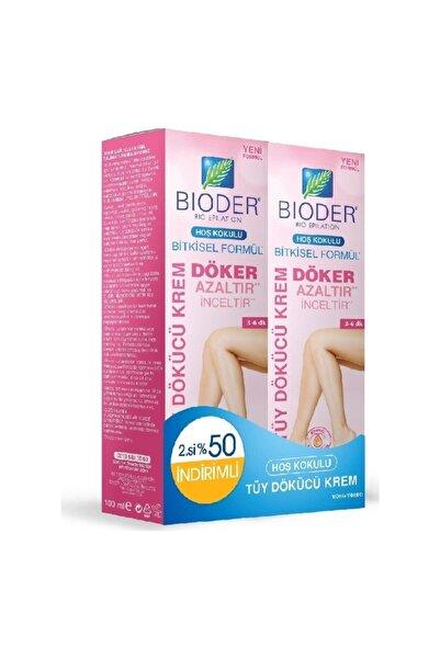 Bioder Normal Ciltler için Tüy Dökücü Krem 2x100 ml