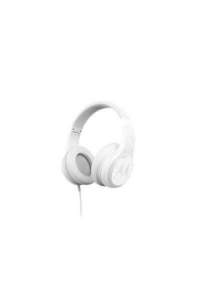 Motorola Pulse 120 Bass Kablolu Kulaküstü Kulaklık Beyaz