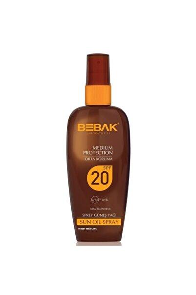Bebak Sprey Güneş Yağı 20 Spf Orta Koruma 150 ml