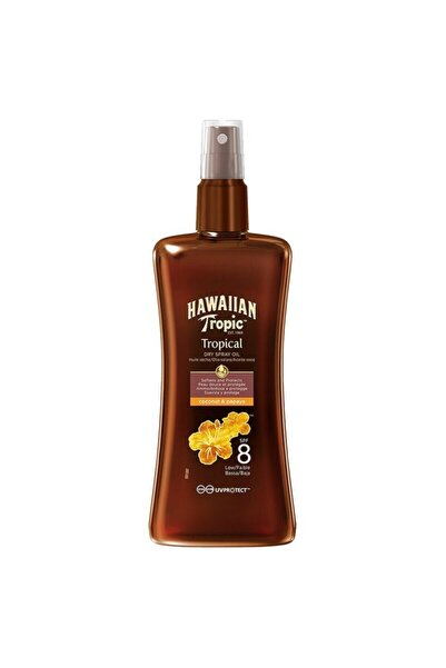Hawaiian Tropic Dry Spray Oil Spf8 Koruyucu Ve Bronzlaştırıcı Kuru Yağ Sprey 200 ml