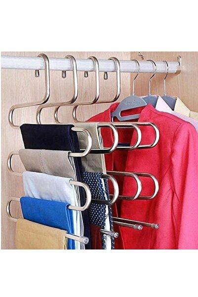 ORSA HOME 5 Katlı Akıllı Pantolon Askısı 2 Adet