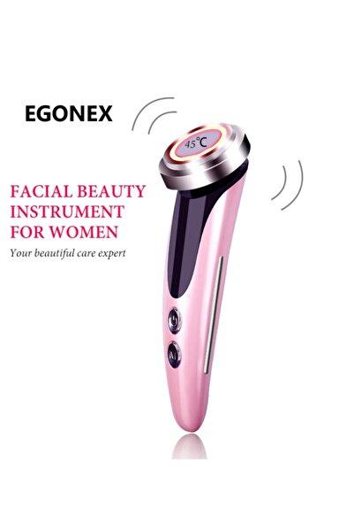 Egonex Dls-02 Ems Güzellik Led Işık Tedavisi Yüz Cilt Bakımı Cihazı Yüz Germe Sıkılaştırmak