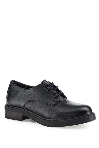 Miss F Siyah Kadın Oxford Ayakkabı Dw21012 1pr