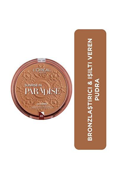 L'Oreal Paris Bronze Please! Bronzlaştırıcı Pudra 03 Amalfi 3600522109303