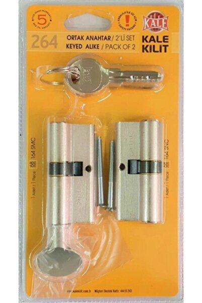Kale Kilit Kale 264snc+smc Ortak Anahtar 2li Silindir Kapı Kilit Göbeği