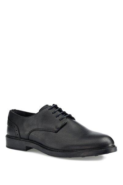 Downtown 031-3 1 Pr Siyah Erkek Klasik Ayakkabı