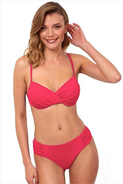 AYYILDIZ Kadın Koral Toparlayıcı Bikini Takımı 40705