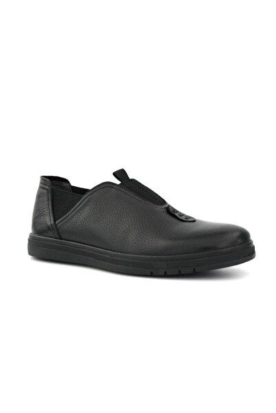 Beta Hakiki Deri Erkek Günlük Ayakkabı Siyah