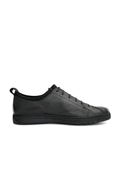Beta Erkek Hakiki Deri Günlük Ayakkabı Siyah