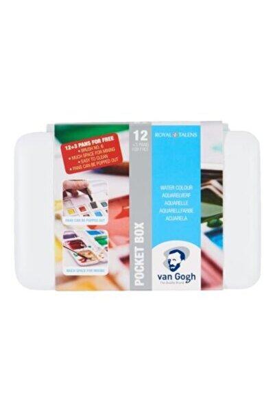 Talens Van Gogh Tablet Sulu Boya 15 12+3 Renk + 25x35 cm 300 gr Defter