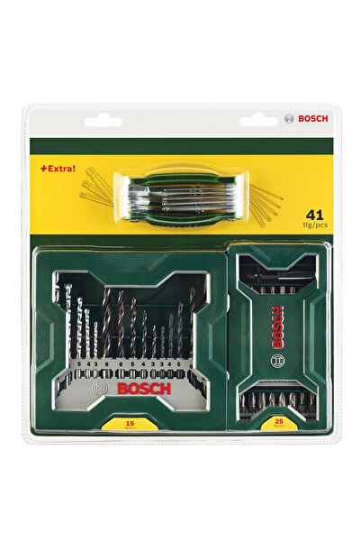 Bosch X-line 25+15+1 H&vidalama&matkap Ucu Seti