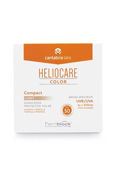 Heliocare Color Compact Spf50 - Kompakt Güneş Koruyucu Light 10gr