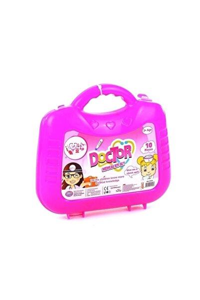 ERKOL OYUNCAK Kız Çocuk Çantalı Doktor Set Hb-15930