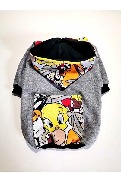 PATİBÖR Cepli Looney Tunes Sweatshirt