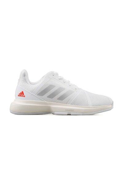 adidas Courtjam Bounce W Kadın Tenis Ayakkabısı H67702 Beyaz