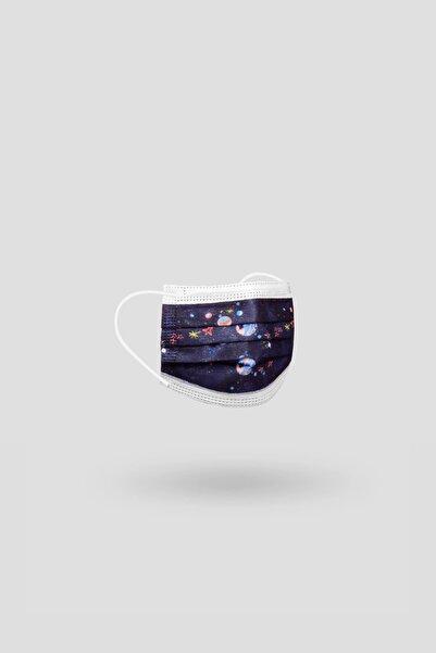 Bross 10'lu Uzay Desenli Çocuk Cerrahi Maske