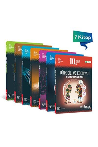 Sınav Yayınları 10. Sınıf Tüm Dersler Soru Bankası Seti