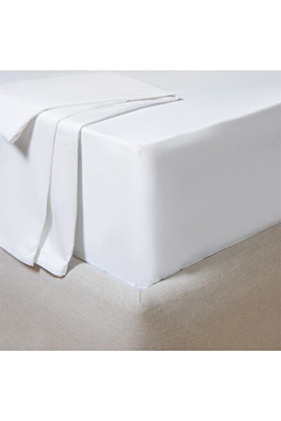 Chakra Ekstra Çift Kişilik Çarşaf 280x290 cm Beyaz