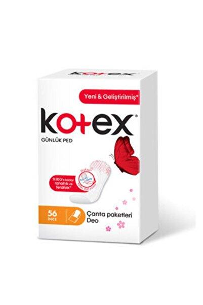 Kotex İnce Günlük Parfümlü 56'lı