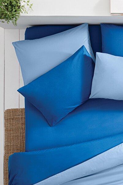 Yataş Bedding Noah Lastikli Çarşaf - Açık Lacivert