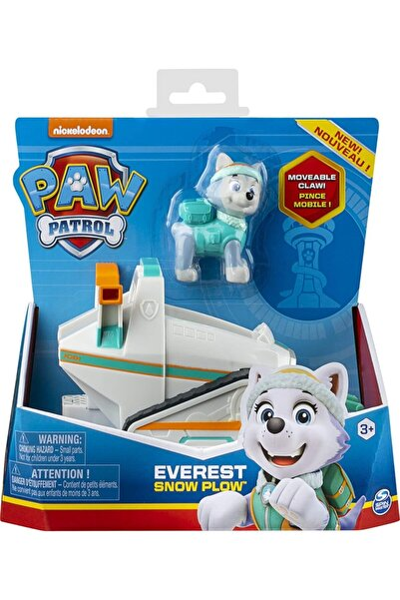 PAW PATROL Görev Aracı Ve Kahramanlar Everest Snow Plow