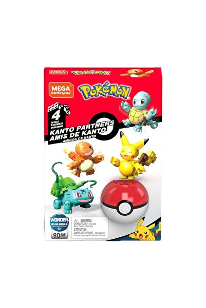 mattel Gcn21 Mega Bloks Pokemon - Kanto Ekibi