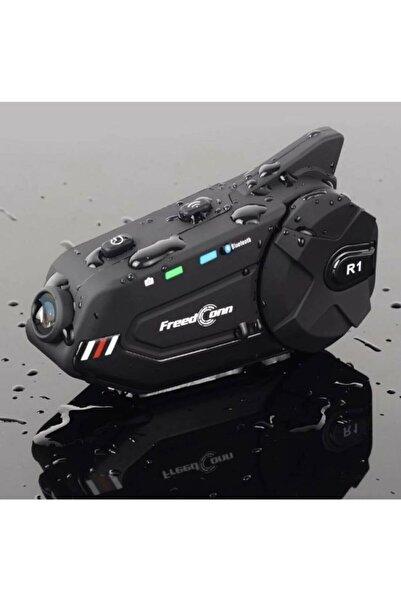 Mobee Motosiklet Freedconn R1 Plus Bluetooth Interkom Kask Kulaklık R1