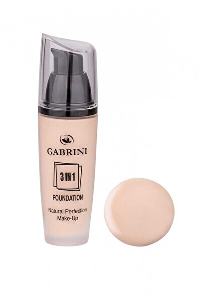 Gabrini Fondöten - 3 In 1 Glass Foundation 02 8696814063823