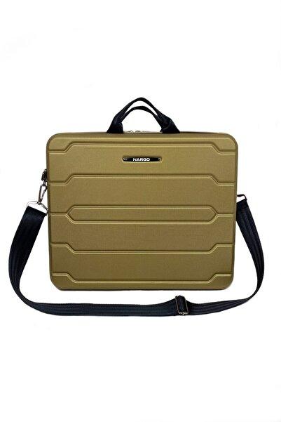 e-myt23 Nevy 15.6 Inç Notebook Laptop Evrak Çantası - Süper Gold ( 42x31x9.5cm )