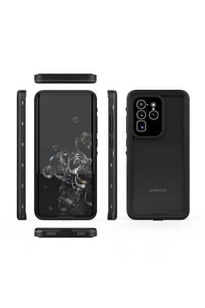 cepsesuar Samsung Galaxy S20 Ultra Kılıf 1-1 Su Toz Yağmur Geçirmez 360 Kapak