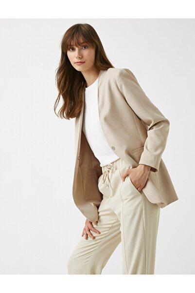 Koton V Yaka Blazer Ceket