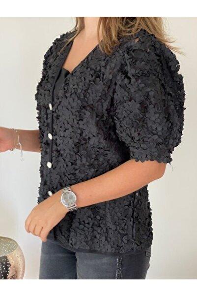 Apex Siyah Abiye Ceketi Ithal Gelinlik Bolero Ceket