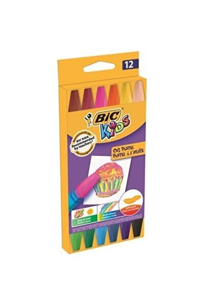 Bic Kids Oil Pastel 12 Li 07.14.029.022