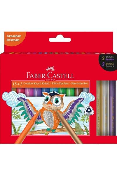 Faber Castell Comfort Keçeli Kalem 15+3