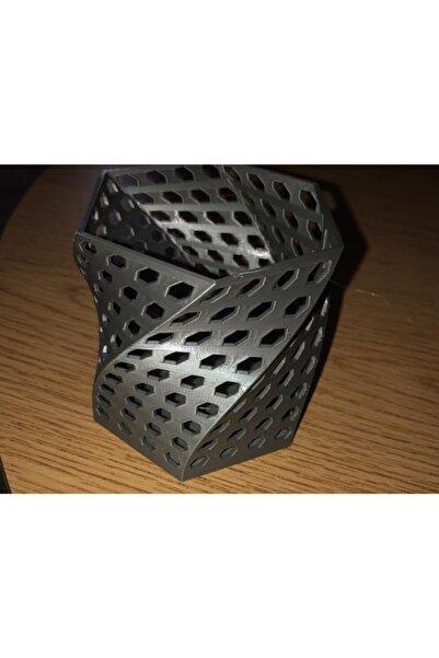 SudoCheap Altıgen Twist Kalem / Kalemlik Dekoratif Süs Eşyası Organizer