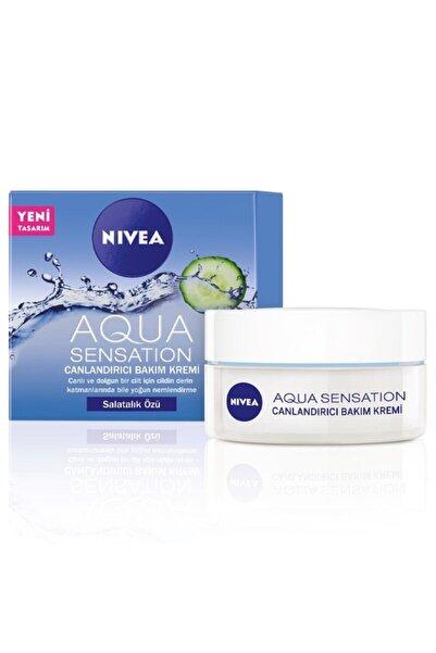 Nivea Aqua Sensation Canlandırıcı Bakım Kremi 50 ml