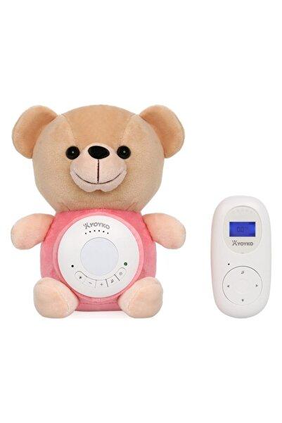 YOYKO Bear Dijital Bebek Telsizi Pembe