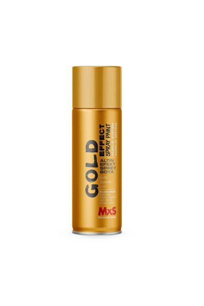 MxS 908 Altın Efekt Sprey Boya 400ml