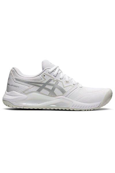 Asics Kadın Beyaz Gri Tenis Ayakkabısı