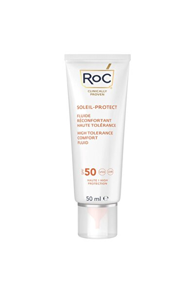 Roc Soleil Protect High Tolerance Fluid Spf 50+ 50 Ml