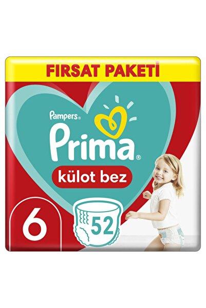 Prima Külot Bebek Bezi Fırsat Paketi Xl 6 Beden 15 Kg+ 52 Adet