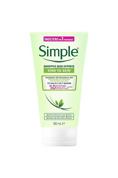 Simple Ferahlatıcı Yüz Temizleme Jeli 150 ml