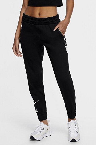 Nike Siyah Kadın Eşofman Altı Nıke Sportswear 7/8 Fleece Pants Dj1060-010