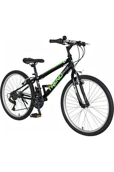 TRENDBIKE Mistral 24 Jant 21 Vites Siyah Neon Yeşil Dağ Bisikleti