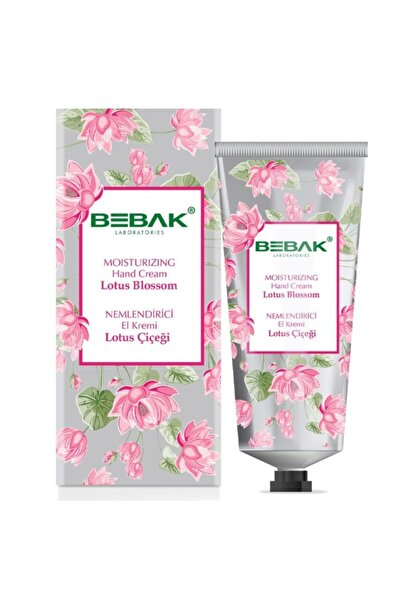 Bebak Lotus Çiçeği Nemlendirici El Kremi60 ml