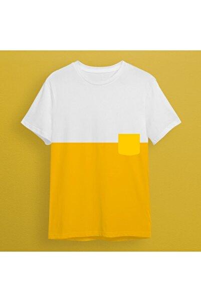 uyguntarz Cepli Sarı Tshirt