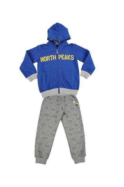 moto angela Erkek Çocuk Sweatshirt ve Pantolon Takım Kapşonlu