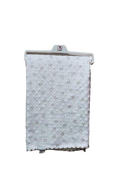 Bibaby Yıldızlı Çift Taraflı Battaniye 64046 Ekru