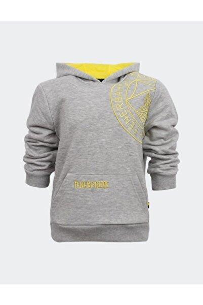 Fenerium Çocuk Tribün Omuz Logo Nakış Sweatshirt