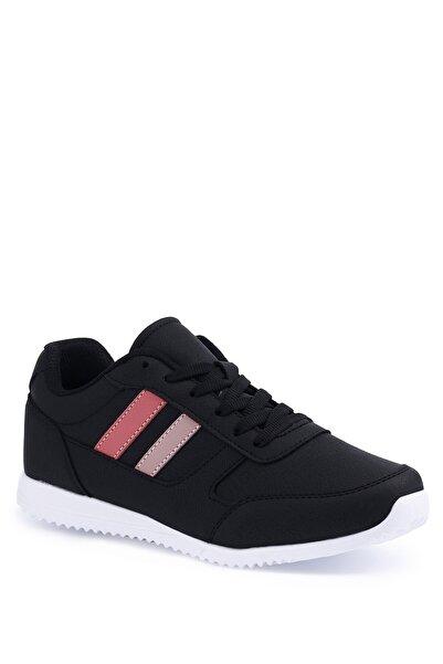 Torex Denzel Pu W 1pr Siyah Kadın Sneaker